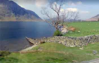 Crummock water entry/exit