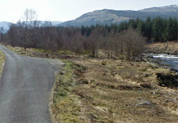 Orchy pools car parking