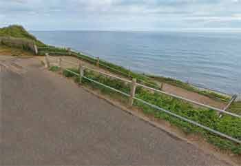 Overstrand site entry/exit