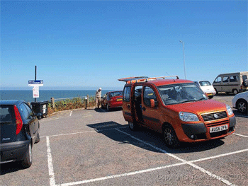 Sheringham gullies parking