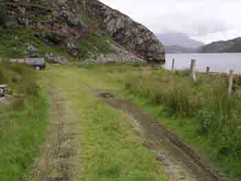 Kinlochbervie parking
