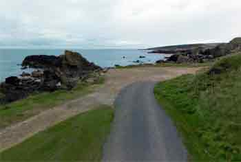 Portsoy pool parking