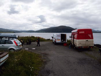 Carnach reef car parking