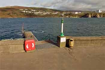 Port Erin jetty entry/exit