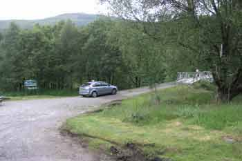 River Orchy car parking