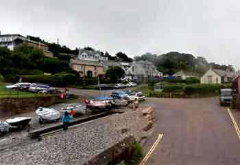 Port Gaverne car parking
