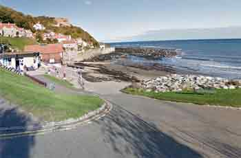 Runswick bay entry/exit