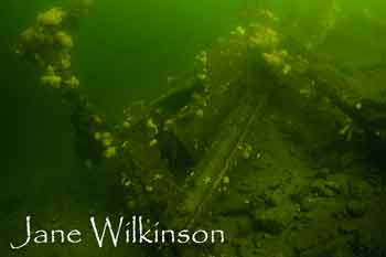 Brackly point wreckage