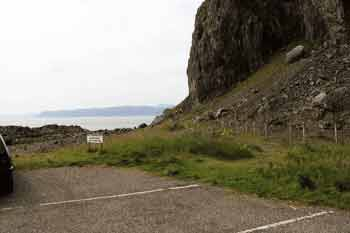 Easdale cliff car parking